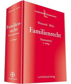 Familienrecht Kommentar von Klein,  Michael, Weinreich,  Gerd