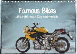 Famous Bikes – die schönsten Zweiradmodelle (Tischkalender 2019 DIN A5 quer) von Huschka,  Klaus-Peter