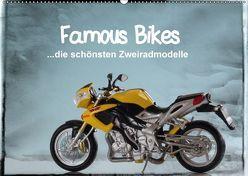 Famous Bikes – die schönsten Zweiradmodelle (Wandkalender 2018 DIN A2 quer) von Huschka,  Klaus-Peter