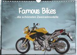 Famous Bikes – die schönsten Zweiradmodelle (Wandkalender 2019 DIN A4 quer) von Huschka,  Klaus-Peter