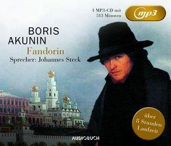 Fandorin (MP3-CD) von Akunin,  Boris, Ernst,  Michael Andreas, Steck,  Johannes, Tretner,  Andreas
