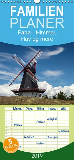 Fanø – Himmel, Hav og mere – Familienplaner hoch (Wandkalender 2019 , 21 cm x 45 cm, hoch) von Peußner,  Marion