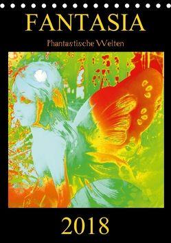 FANTASIA – Phantastische Welten (Tischkalender 2018 DIN A5 hoch) von Labusch,  Ramon