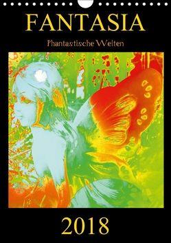 FANTASIA – Phantastische Welten (Wandkalender 2018 DIN A4 hoch) von Labusch,  Ramon