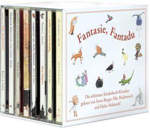 Fantasie, Fantadu von Baum,  Frank L., Berger,  Senta, Carroll,  Lewis, Heidenreich,  Elke, Lofting,  Hugh, Makatsch,  Heike, Travers,  Pamela L.