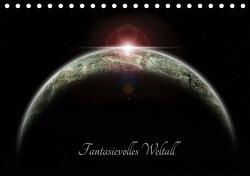 Fantasievolles Weltall (Tischkalender 2021 DIN A5 quer) von Geiling,  Wibke