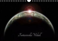 Fantasievolles Weltall (Wandkalender 2019 DIN A4 quer) von Geiling,  Wibke
