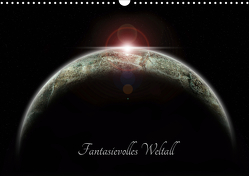 Fantasievolles Weltall (Wandkalender 2021 DIN A3 quer) von Geiling,  Wibke