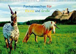 Fantasiewelten für Kleine und Große (Wandkalender 2019 DIN A3 quer) von tinadefortunata