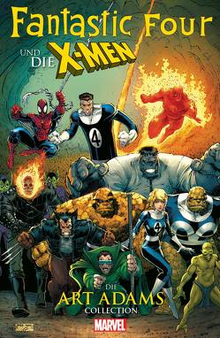 Fantastic Four und die X-Men: Die Art Adams Collection von Adams,  Art, Claremont,  Chris, Simonson,  Walt, Strittmattter,  Michael, Tanaka,  Gracine