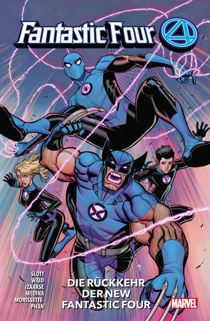 Fantastic Four – Neustart von Medina,  Paco, Slott,  Dan