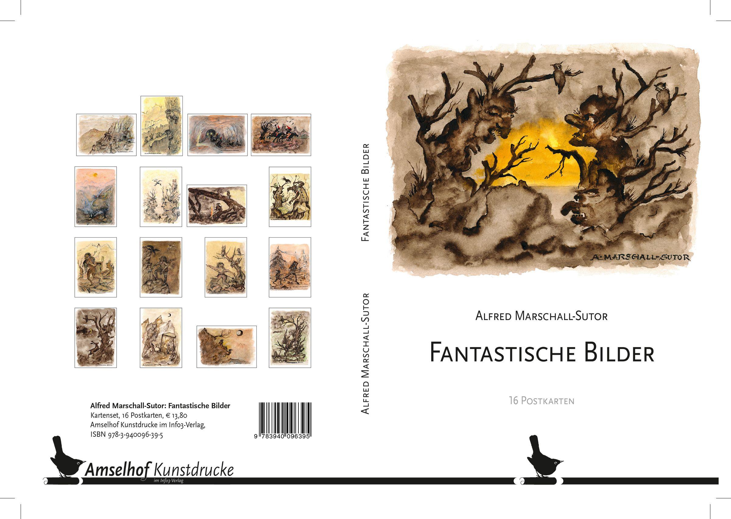 Amselhof Kunstdrucke fantastische bilder marschall sutor alfred