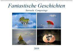 Fantastische Geschichten (Wandkalender 2019 DIN A2 quer) von Di Chito,  Ursula