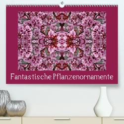Fantastische Pflanzenornamente (Premium, hochwertiger DIN A2 Wandkalender 2020, Kunstdruck in Hochglanz) von kattobello