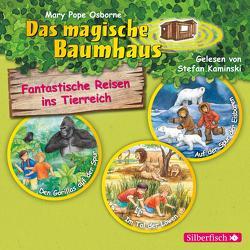 Fantastische Reisen ins Tierreich. Die Hörbuchbox (Das magische Baumhaus ) von Kaminski,  Stefan, Pope Osborne,  Mary, Rahn,  Sabine