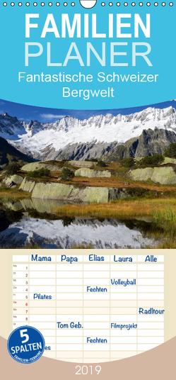 Fantastische Schweizer Bergwelt – Urchiges Urnerland – Teil 1 – Familienplaner hoch (Wandkalender 2019 , 21 cm x 45 cm, hoch) von Friederich,  Rudolf