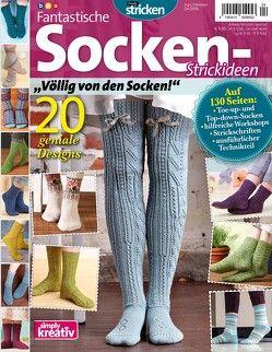 Fantastische Socken-Strickideen von bpa media GmbH, Buss,  Oliver