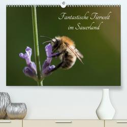 Fantastische Tierwelt im Sauerland (Premium, hochwertiger DIN A2 Wandkalender 2021, Kunstdruck in Hochglanz) von Rein,  Simone