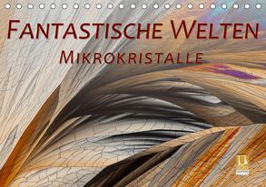 Fantastische Welten Mikrokristalle (Tischkalender 2020 DIN A5 quer) von Becker,  Silvia