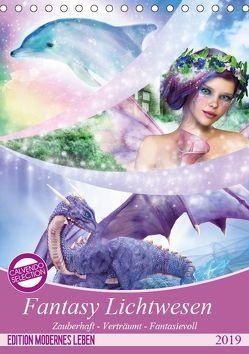 Fantasy Lichtwesen (Tischkalender 2019 DIN A5 hoch) von Shayana Hoffmann,  Gaby