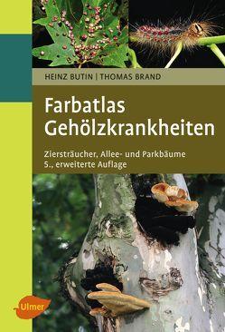 Farbatlas Gehölzkrankheiten von Brand,  Thomas, Butin,  Heinz