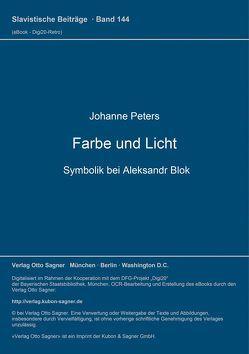Farbe und Licht von Peters,  Johanne