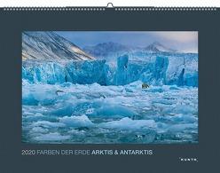 Farben der Erde: Arktis und Antarktis 2020 von KUNTH Verlag
