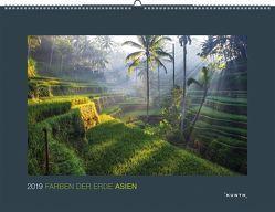 Farben der Erde: Asien 2019 von KUNTH Verlag
