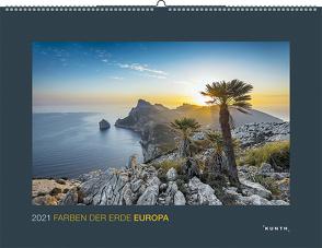 Farben der Erde Europa 2021 von KUNTH Verlag
