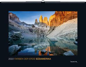 Farben der Erde Südamerika 2022 von KUNTH Verlag