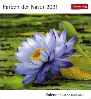 Farben der Natur Kalender 2021 von Harenberg