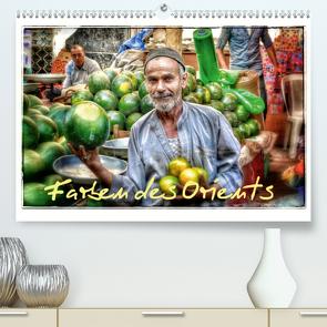 Farben des Orients (Premium, hochwertiger DIN A2 Wandkalender 2021, Kunstdruck in Hochglanz) von Krüger,  Christian