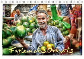 Farben des Orients (Tischkalender 2019 DIN A5 quer)