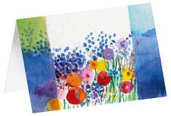 Farben des Sommers – Kunst-Faltkarten ohne Text (5 Stück) von Felger,  Andreas