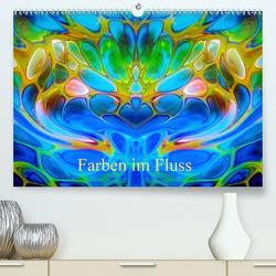 Farben im Fluss (Premium, hochwertiger DIN A2 Wandkalender 2020, Kunstdruck in Hochglanz) von Madalinski,  Anne
