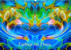 Farben im Fluss (Wandkalender 2021 DIN A2 quer) von Madalinski,  Anne