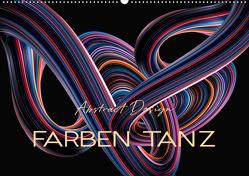 Farben Tanz Abstract Design (Wandkalender 2020 DIN A2 quer) von Roder,  Peter