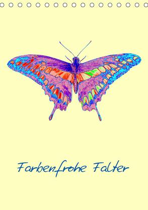 Farbenfrohe Falter (Tischkalender 2020 DIN A5 hoch) von Winter,  Eike