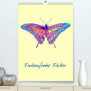 Farbenfrohe Falter (Premium, hochwertiger DIN A2 Wandkalender 2020, Kunstdruck in Hochglanz) von Winter,  Eike