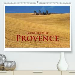 Farbenfrohe Provence (Premium, hochwertiger DIN A2 Wandkalender 2021, Kunstdruck in Hochglanz) von Janka,  Rick