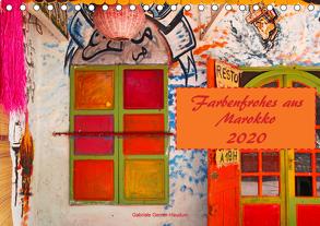 Farbenfrohes aus Marokko (Tischkalender 2020 DIN A5 quer) von Gerner-Haudum,  Gabriele