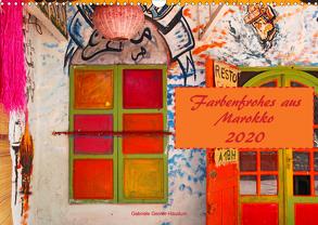 Farbenfrohes aus Marokko (Wandkalender 2020 DIN A3 quer) von Gerner-Haudum,  Gabriele