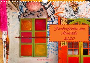 Farbenfrohes aus Marokko (Wandkalender 2020 DIN A4 quer) von Gerner-Haudum,  Gabriele