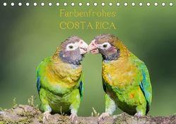 Farbenfrohes Costa RicaAT-Version (Tischkalender 2018 DIN A5 quer) von Jordan,  Sonja, www.sonja-jordan.at,  k.A.
