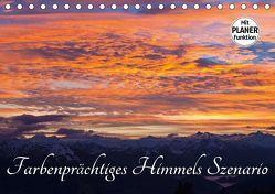 Farbenprächtiges Himmels SzenarioAT-Version (Tischkalender 2018 DIN A5 quer) von Kramer,  Christa