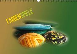 Farbenspiele (Wandkalender immerwährend DIN A3 quer) von Peter,  Gisela