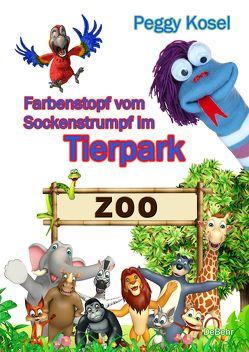 Farbenstopf vom Sockenstrumpf im Tierpark von Kosel,  Peggy