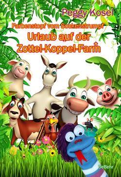 Farbenstopf vom Sockenstrumpf – Urlaub auf der Zottel-Koppel-Farm von Kosel,  Peggy