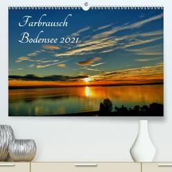 Farbrausch Bodensee (Premium, hochwertiger DIN A2 Wandkalender 2021, Kunstdruck in Hochglanz) von Brinker,  Sabine