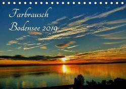 Farbrausch Bodensee (Tischkalender 2019 DIN A5 quer) von Brinker,  Sabine